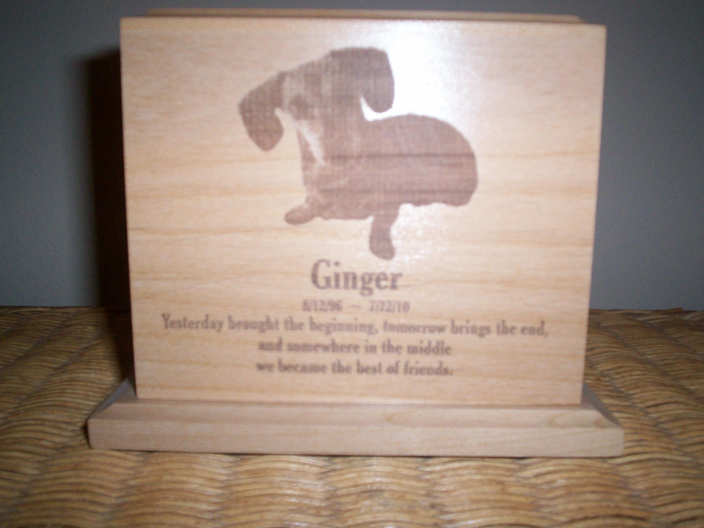 Engraved Urns