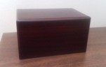pet cremation urn wood box