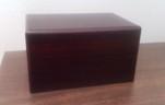 pet cremation urn wood box