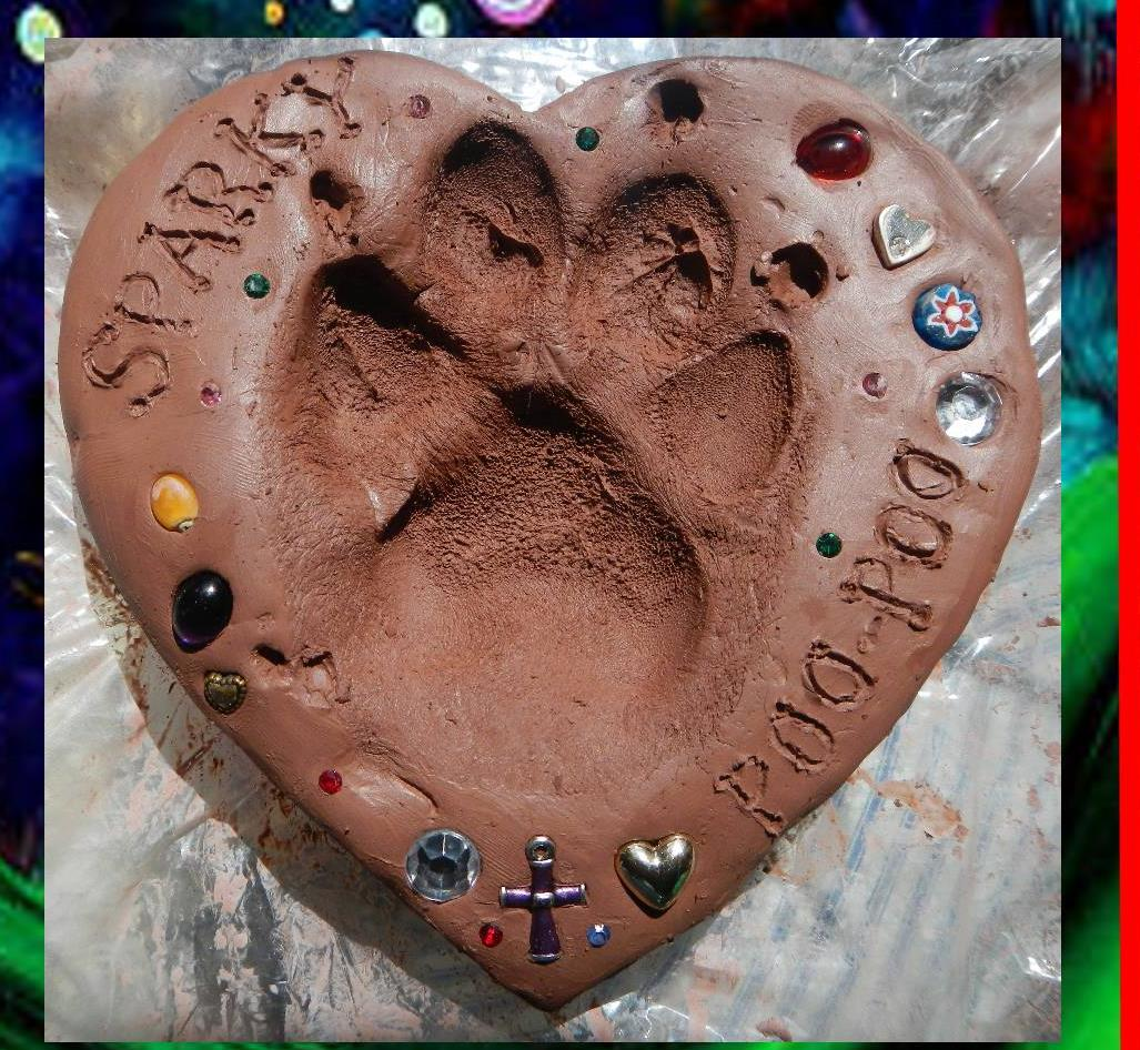 paw print pet cremation